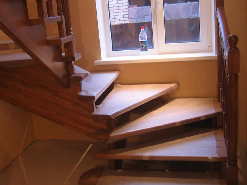 Забежные лестницы своими руками